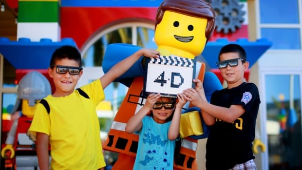 Lego has agreed to a series of 4D spinoff movies based on The Lego Movie characters to be shown at its Legoland parks.