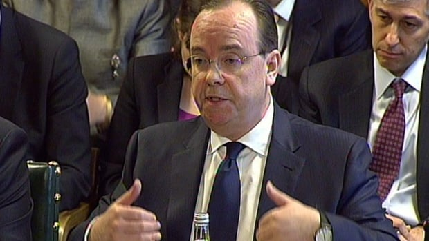 HSBC chief executive Stuart Gulliver defended his personal private Swiss account in an appearance before the Treasury Select Committee at the House of Commons in London on Wednesday.