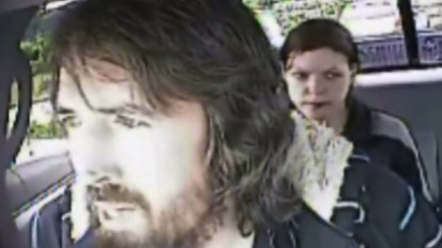 John Nuttall and Amanda Korody are shown in a still image taken from RCMP undercover video.