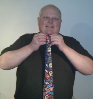Rob Ford and football tie