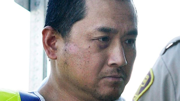 Vince Li is pictured during a court appearance in Portage La Prairie, Man., in August 2008. He has since changed his name to Will Lee Baker.