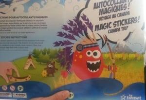 Air Transat children's activity package