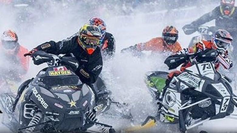 nouveau concept f5ad8 36652 Snowcross championship roars into Sudbury | CBC News