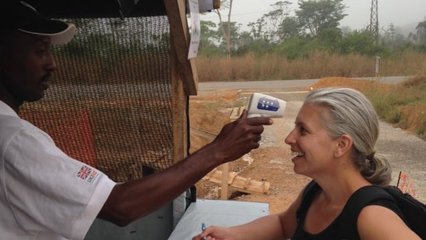 Edmonton aid worker Laura Keegan recently returned from an aid mission to Sierra Leone.