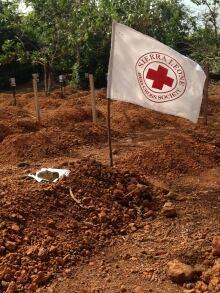grave site in Sierra Leone