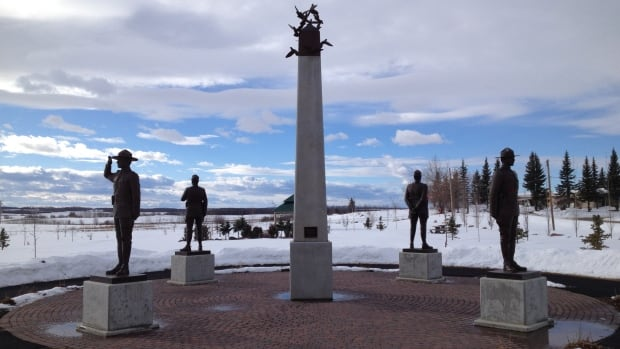 Fallen Four Memorial Park, which opened in Mayerthorpe in 2008, commemorates four constables — Brock Myrol, Leo Johnston, Peter Schiemann and Anthony Gordon — who were all shot and killed in 2005.