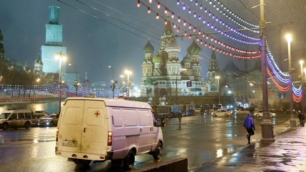 Nemtsov was shot tens of metres from the Kremlin, in the shadow of Moscow's iconic St. Basil's Cathedral.