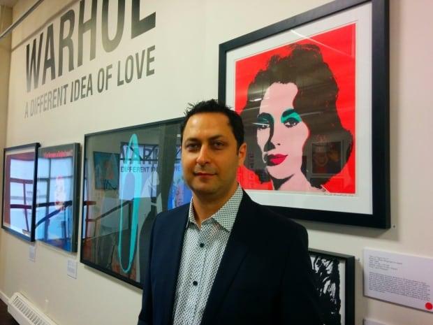 Rivlin Warhol works