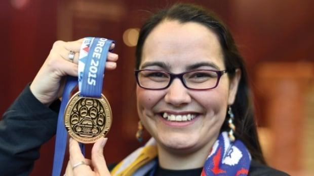 Lheidli T'enneh artist Jennifer Annais Pighin designed the medals for the 2015 Canada Winter Games.