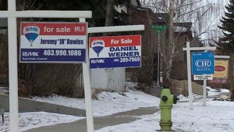 Calgary real estate slump