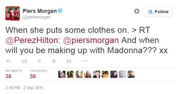 Morgan Cher Tweet 1