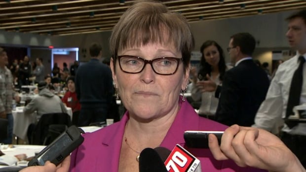 Diana Krecsy, president and CEO of the Calgary Homeless Foundation, said she was  'encouraged' by the federal government's announcement that it would invest in affordable housing.