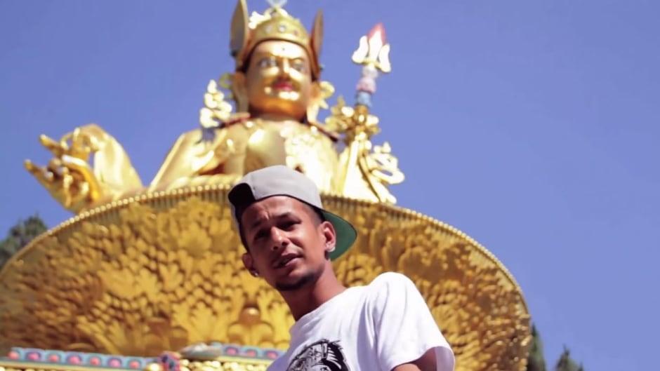Anil Adhikari — a.k.a Yama Buddha — is one of the pioneers of Nepali hip hop and co-founder of Raw Barz, a Kathmandu rap battle series.