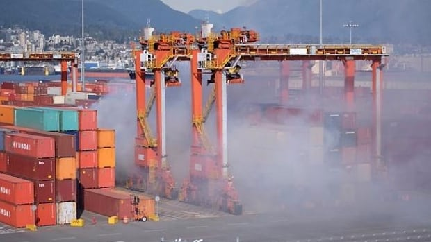 The Vancouver port is running out of industrial space, its CEO says. It's eyeing land that it bought in Richmond, B.C. to develop for industrial use. That land is currently used for farming.