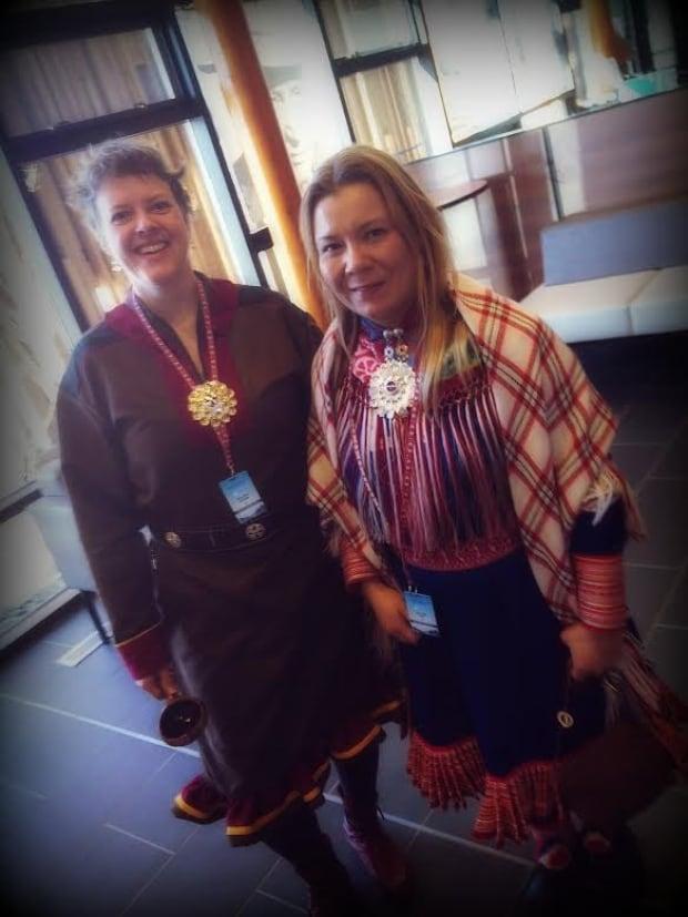Gunn-Britt Retter and Ellen Inga Turi