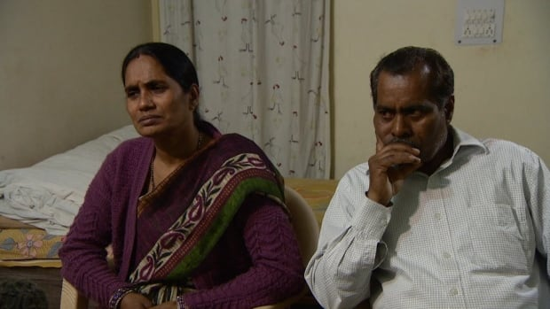 The parents of Delhi rape and murder victim, Asha Devi, left, and Badri Nath Pandey, say the interview with Murkesh Singh should never have been allowed.