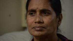 Mother of India victim