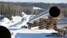 Enbridge pipeline between Fort McMurray and Conklin