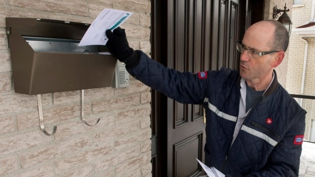Canada Post is phasing out door-to-door delivery in urban areas.