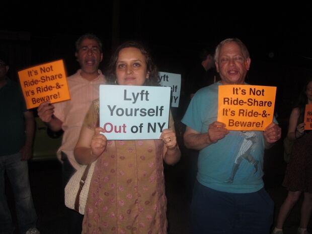 Lyft Protest