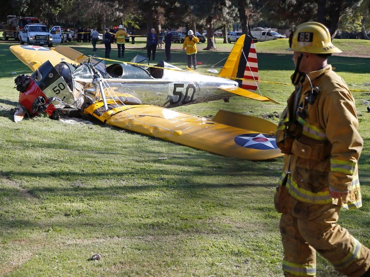 Opinion Vintage plane crash