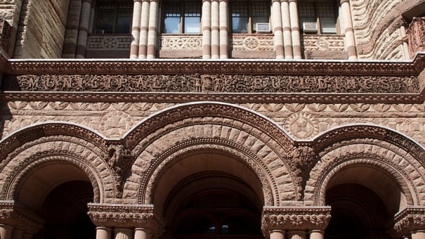 A city committee is looking at possible future uses for Toronto's Old City Hall. The building is currently being used as a court house but the lease with the province expires in 2021.