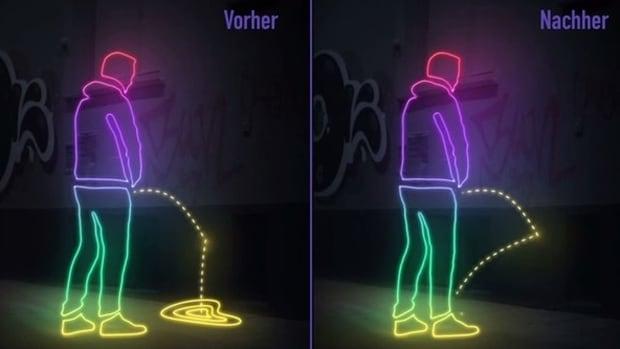 Hamburg pee repellent paint