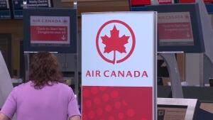 Air Canada signage YVR