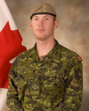 Sergeant Andrew Joseph Doiron, based at Garrison Petawawa, killed in Iraq