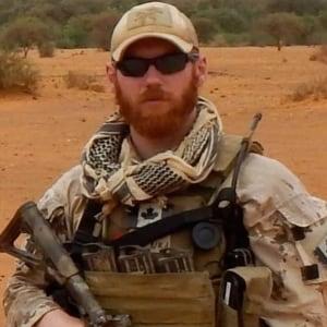 Sgt. Andrew Joseph Doiron in combat