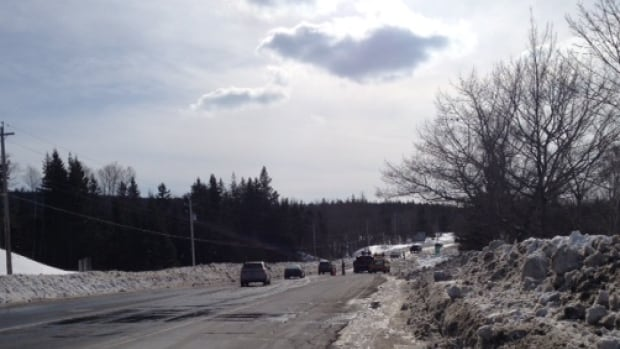 RCMP are asking motorists to avoid the area as the closed section of Highway 105 does not allow for the re-routing of traffic. Highway 4 is the only alternate route to get to and from the island.