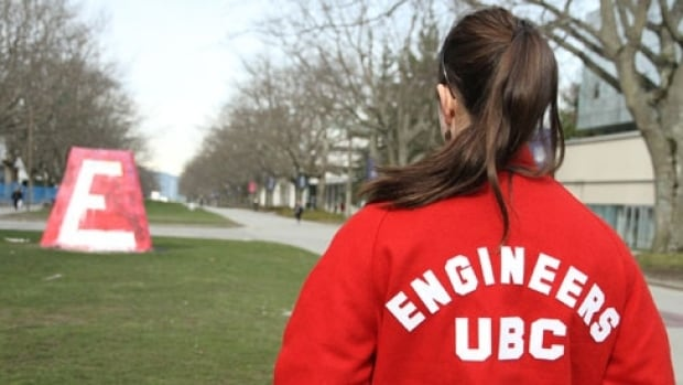 Nearly 29 per cent of students in UBC's first-year engineering programs are women, up from 19.7 per cent in 2010, says the university.