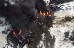 gogama train derailment March 7, 2015