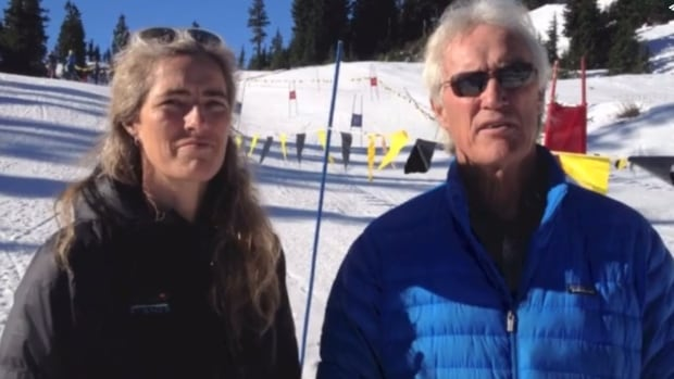 Gwyn Howat, operations manager, and Duncan Howat, president and general manager, discuss the snow conditions at Mt. Baker ski area.