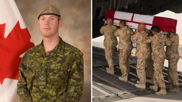 Sgt. Andrew Doiron, a member of the Canadian Special Operations Regiment based at Garrison Petawawa, Ont., was killed by friendly fire on March 6 in Iraq.