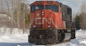 CN train gogama