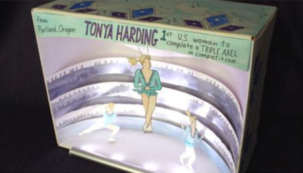 Tonya Harding and Nancy Kerrigan Museum Diorama