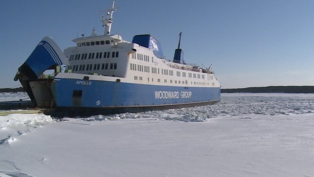 The MV Apollo will be taken out of service on the Strait of Belle Isle crossing beginning Monday in order to undergo its annual refit.