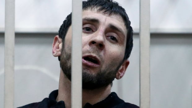 Zaur Dadaev reportedly confessed his involvement in the murder, but has since said he did so under duress and was not given an opportunity to profess his innocence in court.