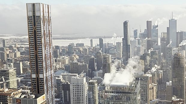'The One' proposed at 82-storeys would have been the first to pass First Canadian Place in height but in the last couple of years the city has seen several proposals for buildings even taller than that.