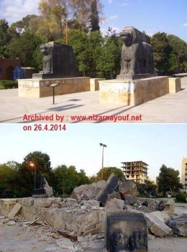 Assyrian Lions