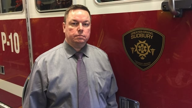 Trevor Bain is no longer the executive deputy chief for fire and paramedic services in Greater Sudbury.