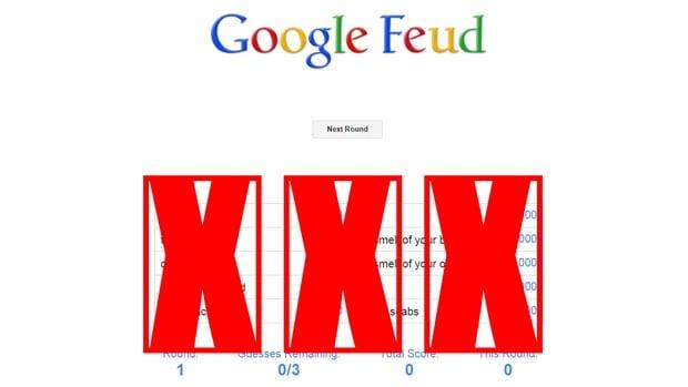 Google Feud Wrong