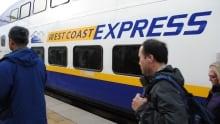 Transit referendum West Coast Express train