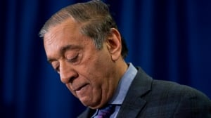 Wally Oppal, B.C.'s former Attorney General, led the province's inquiry into missing and murdered women.