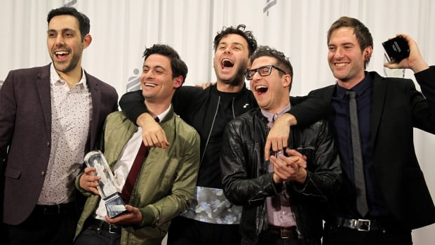After winning big at The Juno Awards this year, Hamilton's Arkells are up for three Hamilton music awards. Blackie and the Rodeo Kings, Hachey The MouthPeace, Laura Cole and many more are also nominated.