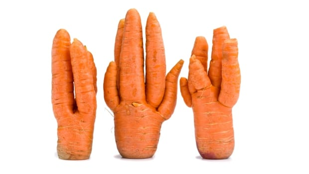 Loblaws has started selling misshapen produce at a 30 per cent discount, a move one food researcher says will help cut down on food waste.