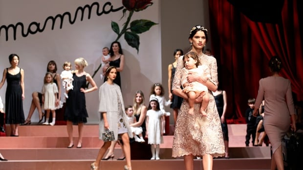 Dolce & Gabbana famously sent models down the runway with babies in their arms earlier this month to celebrate motherhood, but it would appear as though the designers aren't quite as keen on babies born to gay parents through in vitro fertilization.