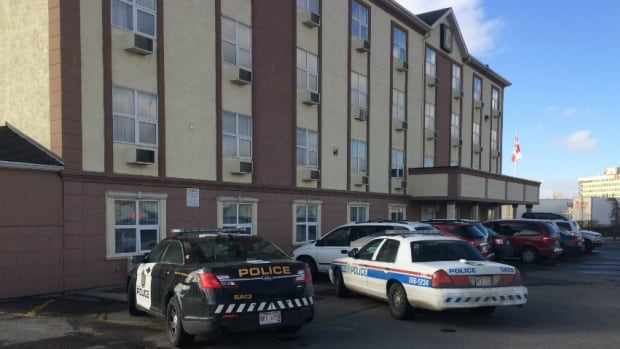 A man was shot to death by police at a motel in the 3000 block of Barlow Trail N.E. on Monday afternoon.