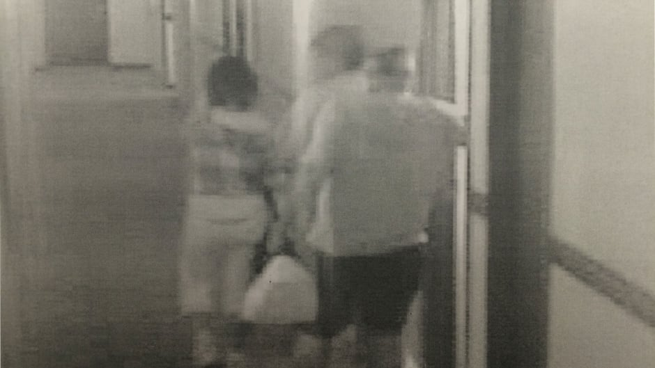 Surveillance video shows Cindy Gladue and Bradley Barton leaving Barton's hotel room. The next night, she would return to his room, where she would later be found dead.